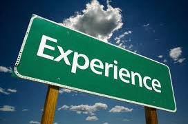 Experience Counts!