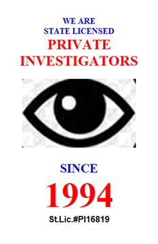 private investigator in Hidden Hills California